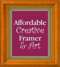 Affordable Creative Framer and Art logo
