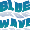 blue wave power washing logo