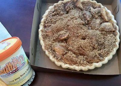 Apple pie & Ice cream!