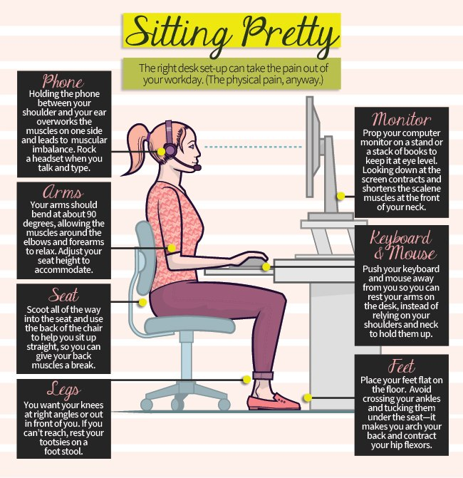 Sitting Pretty: an Infographic