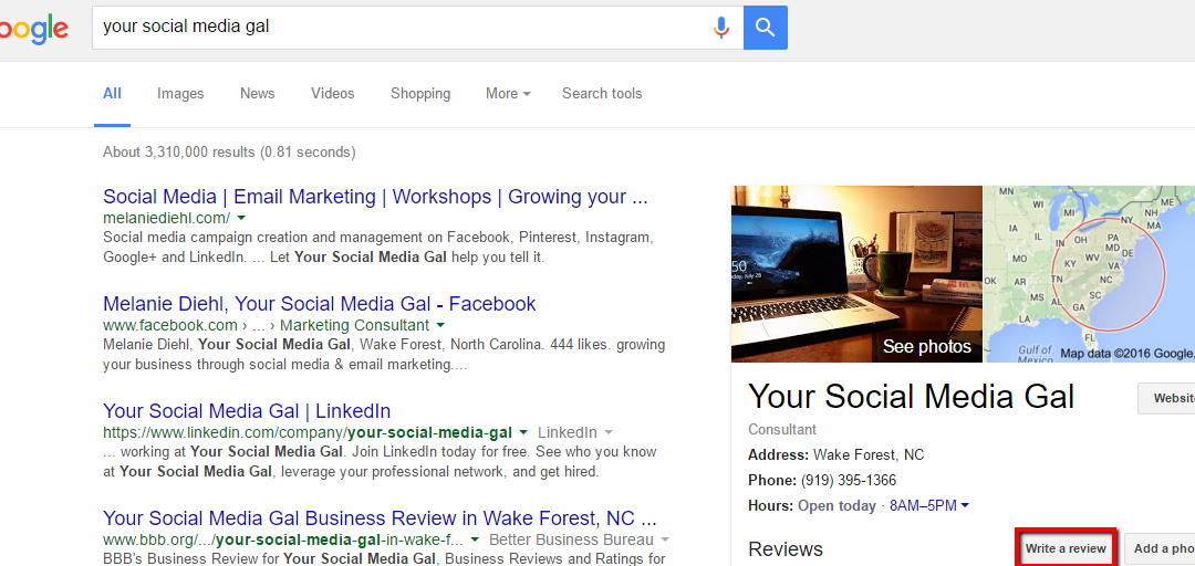 How to get a business review on Google