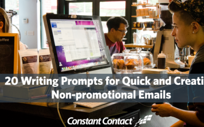 [Worksheet] 20 Writing Prompts for Quick and Creative Non-promotional Emails
