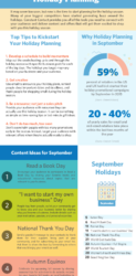 Your September holiday and marketing planner is here!
