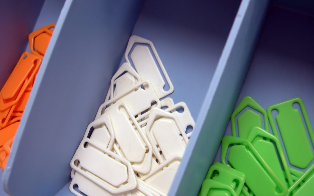 get organized office paper clips