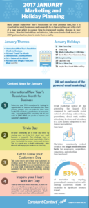 Your January Holiday and Marketing Planner is here!