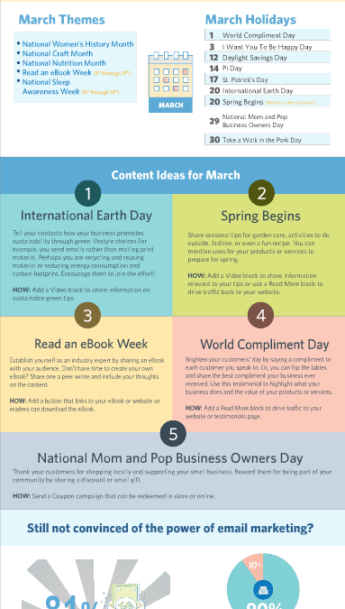Your March Holiday and Marketing Planner is here!
