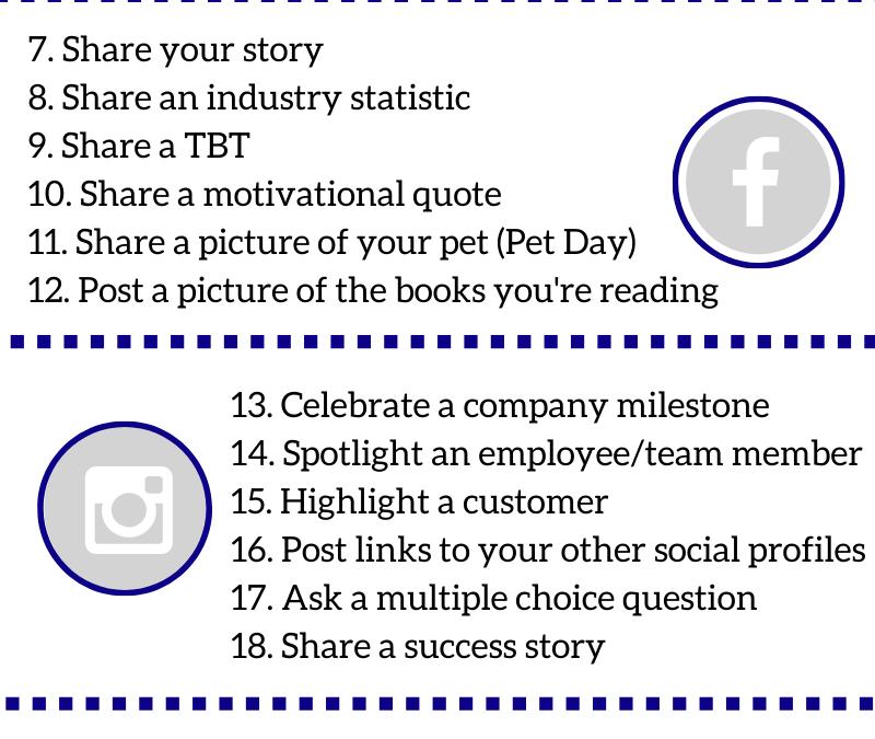 30 day social media challenge