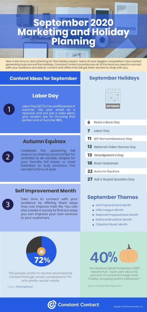 september content plan
