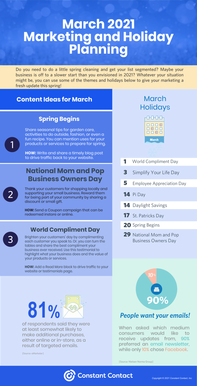 march content planner
