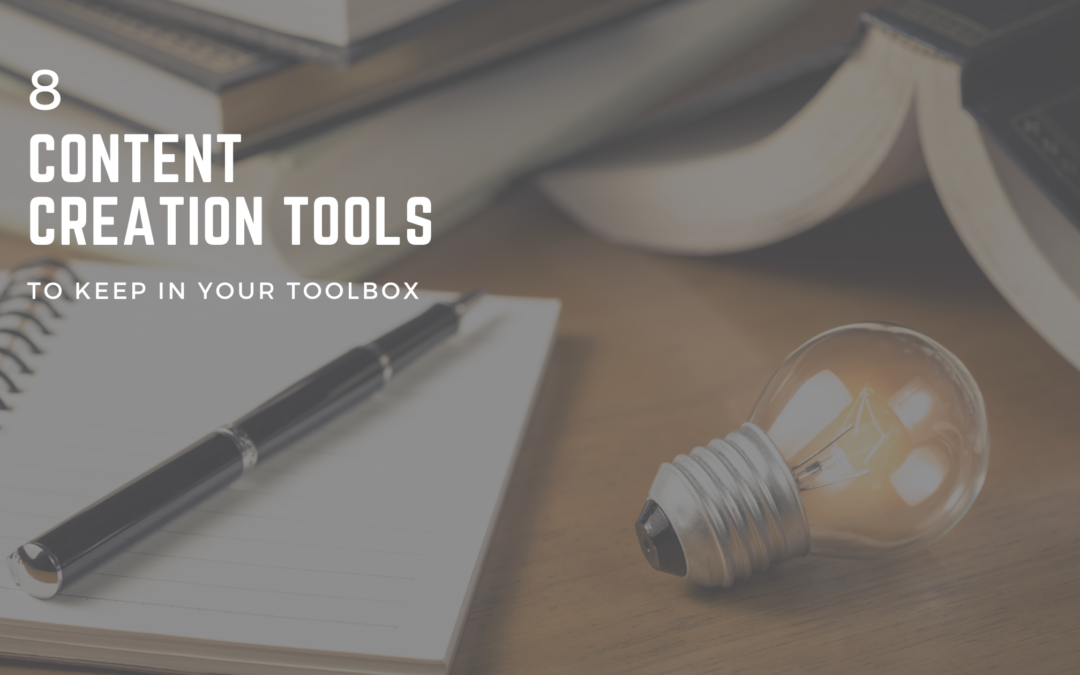 8 content creation tools