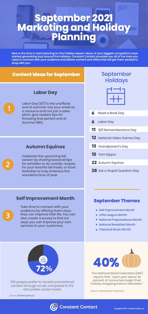 September content planner
