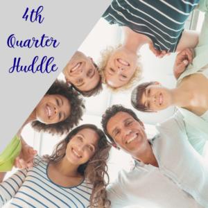 4th quarter huddle